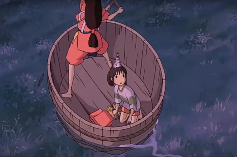 神隱少女盆舟